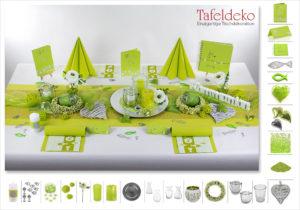 Kommunion Tischdeko