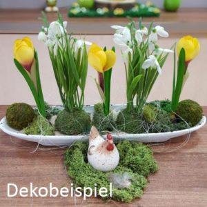 Deko mit Blumen